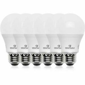 Great Eagle A19 100W Replacement LED bulb Daylight 5000K 1500 Lumens (6-pack)