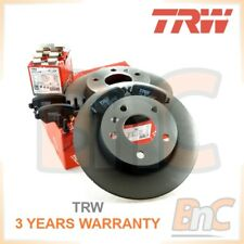 # TRW HEAVY DUTY REAR BRAKE DISCS & PADS + FITTING SET OPEL ASTRA G H ZAFIRA A B