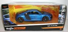 Voitures, camions et fourgons miniatures bleus pour Audi 1:18