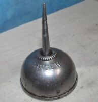 Vintage SINGER SEWING MACHINE Tin Oil Can/Gunsmith Oiler J864