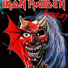 Iron Maiden - Purgatory EP Vinyl LP Sticker or Magnet