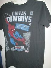 Dallas Cowboys Spiderman Limited Edition Series T-Shirt Youth Med.Marvel Comics