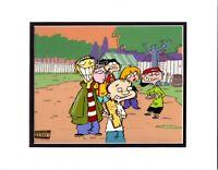 Ed Edd n Eddy 6 CHARACTER Original production Animation Cel Cartoon Network