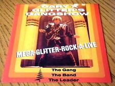 "GARY GLITTER'S GANGSHOW - MEGA-GLITTER-ROCK-A-LIVE  7"" VINYL EP PS"