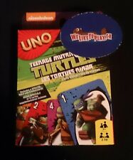 UNO Teenage Mutant Ninja Turtles Card Game 7+ Nickelodeon 2-10 players NISB!