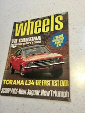 WHEELS MAGAZINE DEC 1974 L34 TORANA TEST BATHURST CORTINA VINTAGE CAR MAGAZINE
