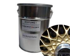 1 Liter Spritzfertigen Wasserbasislack RAL 1036 Gold Metallic Autolack BBS Felge