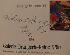 Michael Buthe Katalog Buch book signed signiert autograph Signatur Autogramm