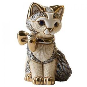 De Rosa Rinconada   Kitten With Gold Ribbon.