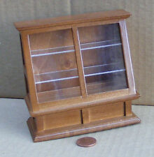 1:12 Scale Walnut Colour Shop Display Dolls House Miniature Accessory 274wn