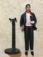 Rare Michael Jackson Billie Jean doll with stand mic vintage 1984