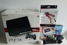 PS3 Bundle - 160GB Console CECH-2502A, PLAYTV, MOVE Control, SHOOTING Attachment