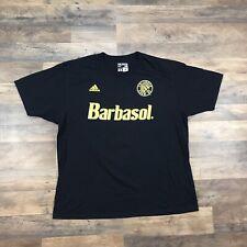 COLUMBUS CREW Short Sleeve T Shirt Mens Size 2X Barbasol Soccer Team Adidas XXL
