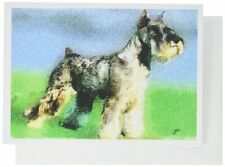 Standard Schnauzer Note Cards- Set of 6 with Envelopes by Doggylips