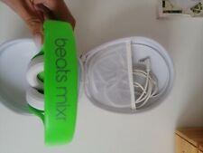 Beats by Dr. Dre Dre Mixr en Headband Auriculares-Blanco/Verde