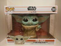 "Funko Pop Star Wars Mandalorian The Child 369 10"""