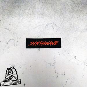 Patch Synthwave txt retrowave retromusic.