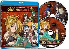 The ambition of Oda Nobuna. complete Series Collection. anime. 2 Blu-ray nuevo