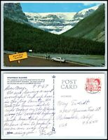 CANADA Postcard - Stutfield Glacier from Jasper Banff Highway AR
