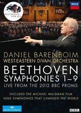 West-Eastern Divan Orchestra Daniel Barenboim - Beethoven: The Nin (NEW DVD SET)