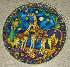 Vintage Royal Doulton Circus of the Moon Gypsy of Giraffes Collectors Plate