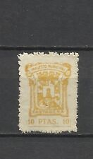 1919-SELLO FISCAL LOCAL CARTAGENA IMPUESTOS 10 PESETAS