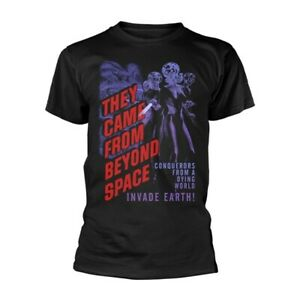 Plan 9 - They Came From Beyond Space - They Came From (Black) (NEW MENS T-SHIRT)