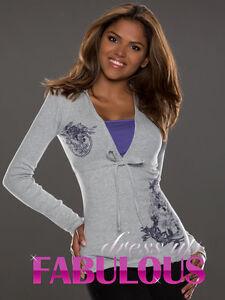 New WOMEN'S JUMPER EUROPEAN LONG SLEEVE TOP SHIRT Size 6 8 / US Size 2 4 / XS S