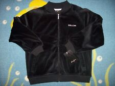 Sean John Jacket Boys XL 7X Black Velour Signature NWT
