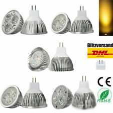 1/4/10x mr16 High Power LED Spotlight 12v emisor lamp 3w 4w 6w 8w 9w warmweiss