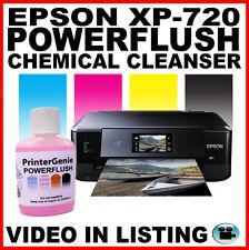 Epson XP-720: Head Cleaning Kit -  Nozzle Cleanser & Flush: Printhead Unblocker