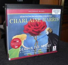 Dead in the Family Sookie Stackhouse #10 Charlaine Harris Unabridged Audio CDs