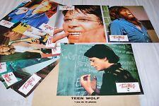TEEN WOLF ! mj fox  jeu 10 photos cinema lobby cards fantastique