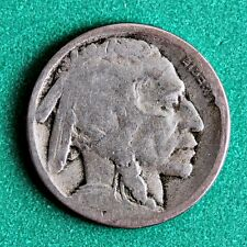 1917-S INDIAN HEAD (BUFFALO) NICKEL in GOOD (G) CONDITION