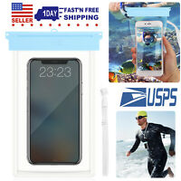 Underwater Waterproof Pouch Dry Bag Case Cover For iPhone Android Smartphones