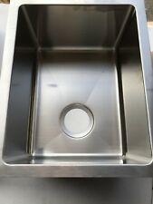 C-TECH-I; Linea Amano Handmade Stainless Steel Sink, LI-1300; Italy, New In Box