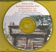 Tazewell County Settlement & Indian Wars - VA Genealogy