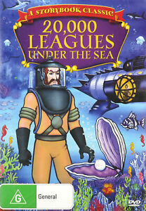 20,000 Leagues Under The Sea (DVD, Region 4) New and Sealed