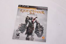 Playstation 3 PS3 - God Of War I & II + Orgins Voucher -Brand New NOT FOR RESALE