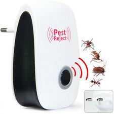 Praktisch Elektronisch Ultraschall-Schädlingsschutz EU Stecker  Insekt Verjagen