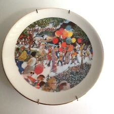 """Franklin Mcmahon Plate Sunday At The Lincoln Park Zoo 1973 Limited Ed,Chicago 8"""""""