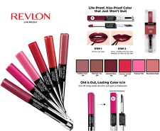 Revlon Colorstay Overtime Lipcolor 16 hr Choose Shade Below