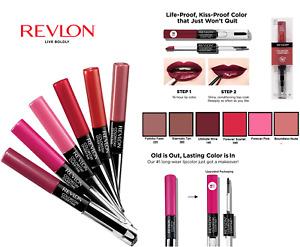 Revlon Colorstay Overtime Lipcolor 16 hr Choose Shade Below