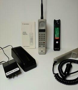 Rare Motorola Dynatac 8100L Vintage Brick Cell Phone 1985-87 Vintage