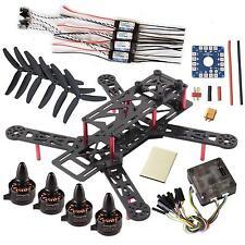 DIY QAV250 V2 Quadcopter Sunnysky X1806S Motor OPTO 12A ESC CC3D FC 5030 Props