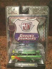 1957 2010 Chevrolet Nomad Chase Car M2 Machines 1:64 Only 492 Made