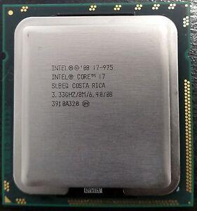 Intel Core i7 Extreme Edition 975 3.33 GHz Quad-Core CPU Processor SLBEQ LGA1366