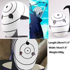 Tobi Obito Uchiha helme Mask NARUTO Akatsuki Ninja Madara Uchiha helmet Cosplay