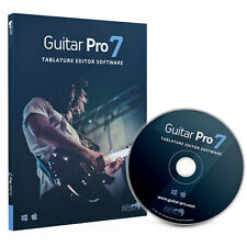 Guitar Pro 7 tablatura-editor notations-software para guitarra