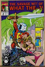 What the--?! #12, 1991, NM